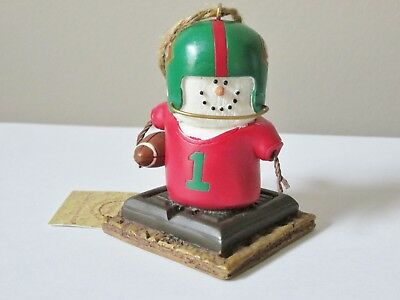 S'MORES Ornament FOOTBALL PLAYER Smores MIDWEST CANNON FALLS
