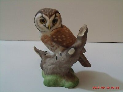 Vintage Boehm Boreal Owl Figurine, The American Owl Collection Made in England