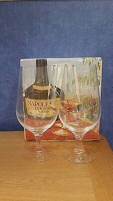 2 x Dartington FT299 Brandy Snifters Glasses  New & Unused Boxed