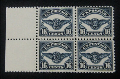 nystamps US Air Mail Block Stamp # C5 Mint OG NH $520 Block Of 4
