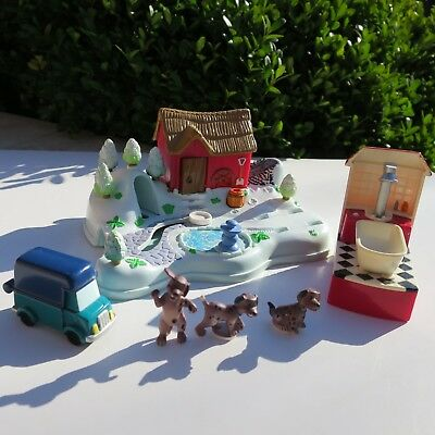Mini Polly Pocket Disney 101 Dalmatiner 100% complete Kohlenwerk Auto 1998