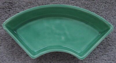 Vintage Fiesta Original or Light Green Relish Tray Signed Side Insert MINT! NR!