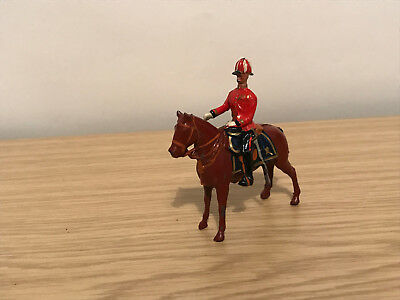 Very Rare Pre War Britains Lead Mounted Officer of the General Staff Figure