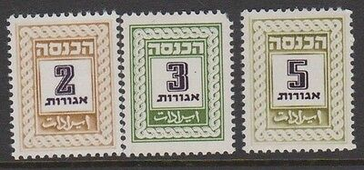 Israeli fiscals?? MNH - don't know what tey are