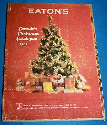 Vintage Eaton'S Canada's Christmas Catalogue 1965