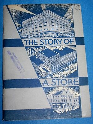 "Vintage T. Eaton Co. ""The Story Of A Store"" Book-1939"