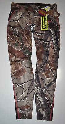 Under Armour Women's Small Coldgear Infrared Evo Camo Hunt Leggings Nwt
