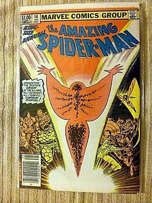 The Amazing Spider-Man King-Size Annual #16 (Marvel, 1982)