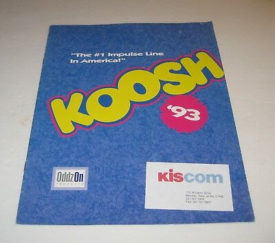 Oddz On 1993 Toy Fair Catalog Koosh Balls Full Line
