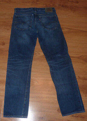 Vintage LEVI'S 501Z XX   34 x 34 BIG E Hidden Rivets  Jeans BOVINE Leather