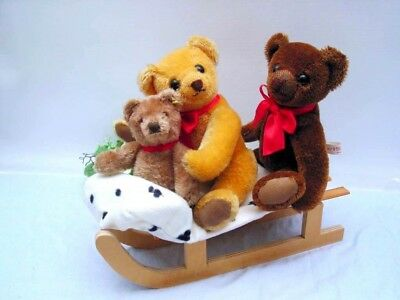 STEIFF TEDDY with friends, 18 cm with button