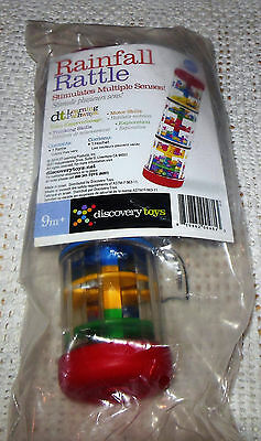Discovery Toys Rainfall Rattle NEW