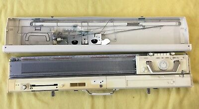 Knitting Machine Brother KH836 Plus Ribber Brother KR850 Plus Table and Extras