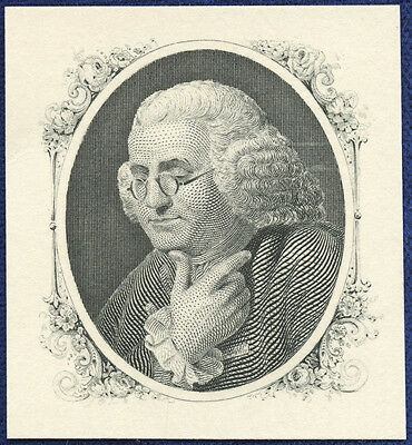 AMERICAN BANK NOTE Co. ENGRAVING: 180a IN THOUGHT