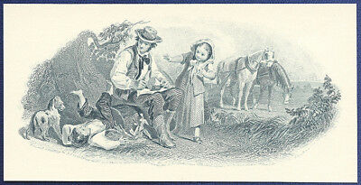 AMERICAN BANK NOTE Co. ENGRAVING: LUNCHEON