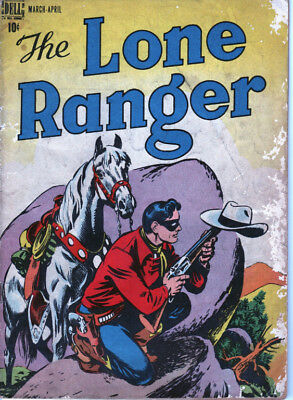 Lone Ranger 2 (1947) Second Issue! Legion Of The Black Arrow! Complete! Fa-Gd