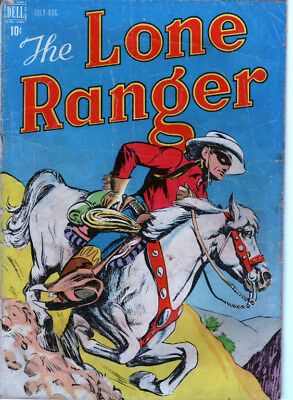 Lone Ranger 4 (1948) Scarce Early Issue! Complete And Collectable!