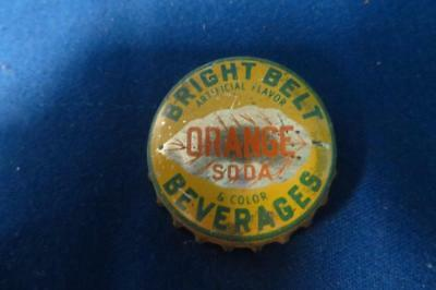 Vintage Bright Belt Orange Soda Bottle Cap