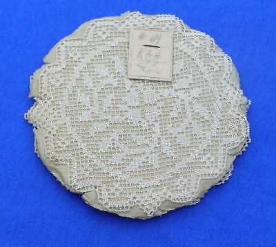 12 Antique Handmade  Filet Lace Small Doily Coaster Package unopened