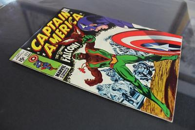 Captain America #117 -HIGHER GRADE- Marvel 1969 - 1st App of The Falcon!!!