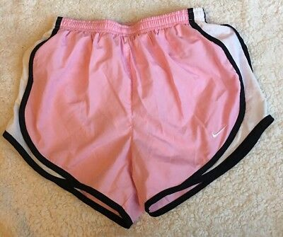 Nike  Fit Dry Women's Running Workout Gym Shorts Pink  Size XS