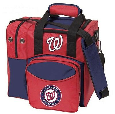 MLB Washington NATIONALS 1 Ball Bowling Bag