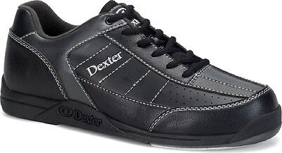 Boys Dexter Ricky III  Bowling Shoes Black/Alloy Sizes 6, 6 1/2, & 7
