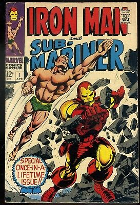 Iron Man and Sub-Mariner #1 VG/F