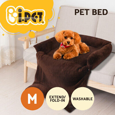 i.Pet Pet Bed Dog Cat Sleeping Beds Pad Sofa Cushion Fleece Couch Mattress
