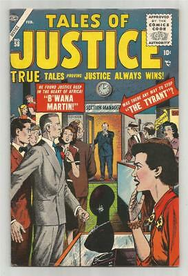 Tales of Justice #58, Feb. 1956