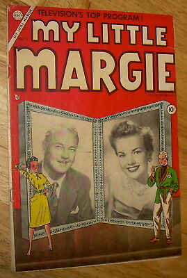 MY LITTLE MARGIE comics #1 scarce Charlton TV tie-in photo-cover no rsv