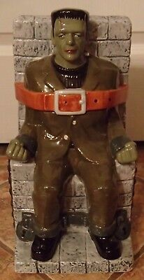 Rare Frankenstein Limited Edition Pfaltzgraff Cookie Jar * 549/1000 * Halloween