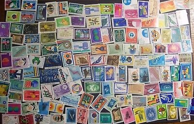 United Nations - 381 different stamps, nice colourful range (18R)