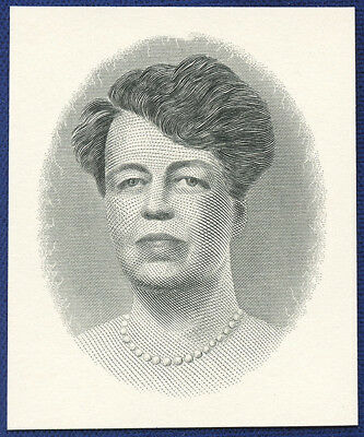 AMERICAN BANK NOTE Co. ENGRAVING: ELEANOR ROOSEVELT