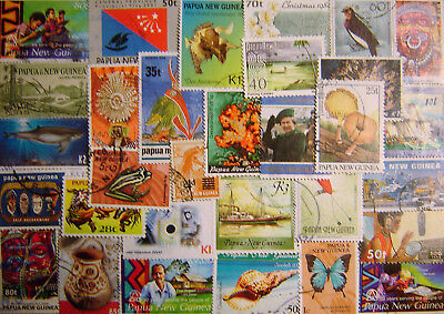 Papua New Guinea 100 Different Used