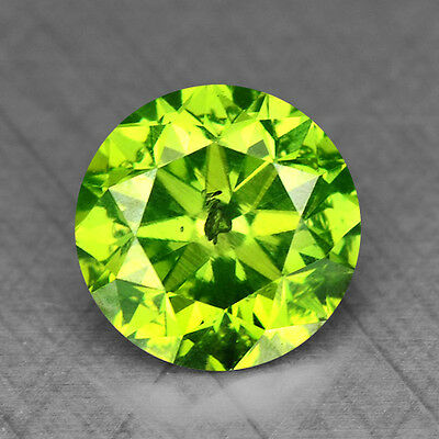0.49 Cts FANCY EXCELLENT GREEN COLOR NATURAL LOOSE DIAMONDS