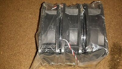 . 3 brand NEWJMC 12VDC 1.2A FANS 1238-12HBA,COMES WITH METAL COVERS