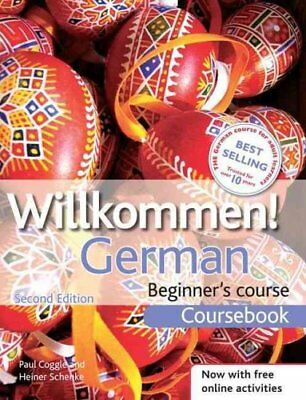 Willkommen! German Beginner's Course 2ED Revised Coursebook 9781444165159
