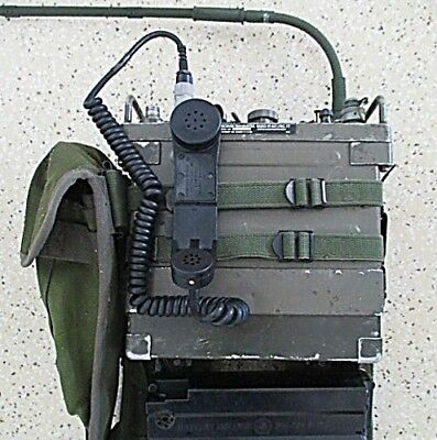 Rare Military Prc-77 Radio Tested In Working Order With Ces Prc 77