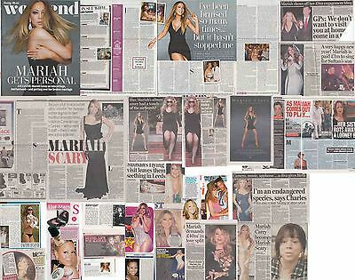 MARIAH CAREY : CUTTINGS COLLECTION -interview-