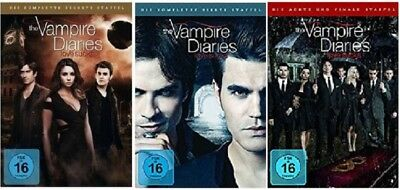 The Vampire Diaries Staffel 6-8 (6+7+8) DVD Set NEU OVP