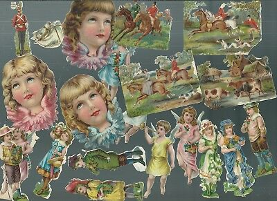 A Nice Selection Of Victorian Scraps