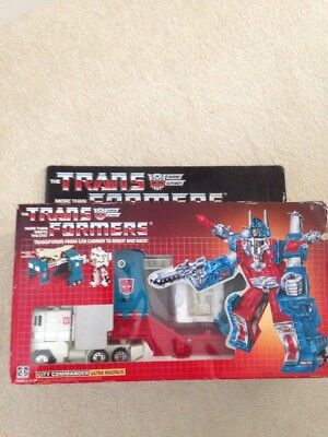 Vintage Transformers G1 Ultra Magnus 1985 Boxed