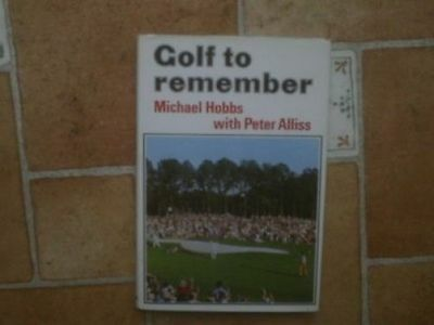 Reminiscences of some Great Golfing Moments