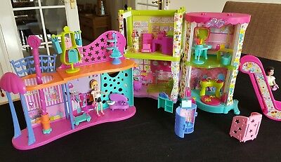 Polly Pocket Shopping Mall bundle