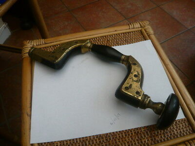 Rare Old Antique Vintage Carpenters Drill Ultimatum Brace Tool William Marples