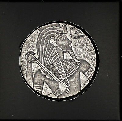 AGN - Tchad 3000 Francs 2016 - King Tut - Antik Finish - 5 Oz Silber