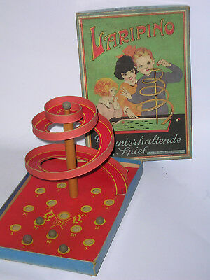 1925 Spear Kugelbahnspiel Laripino marble game Art Deco