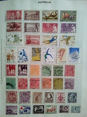 Stamps Used Mm Australia B