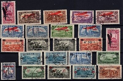P43290/ Syrrie / Syrria / Lot 1926 - 1930 Obl / Used 97 €